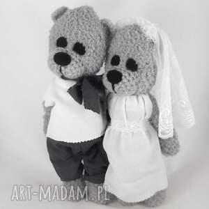 ślub ślubne misie misiowa para młoda