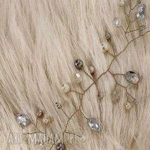 unikatowe ślub fryzura niezwykła aplikacja ozdoba ślubna