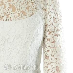 ślubna ślub olivia - koronkowa sukienka