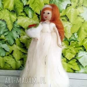 białe ślub dekoracje-ślubne panna młoda. Dekoracyjna laleczka