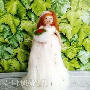 wyjątkowe ślub dekoracje-ślubne panna młoda. Dekoracyjna laleczka