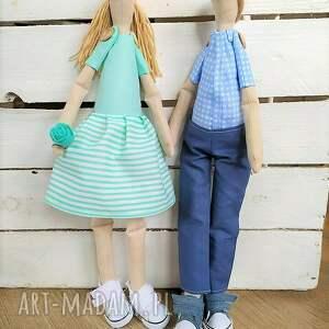 trendy ślub lalki para lalek ślubnych pamiątka