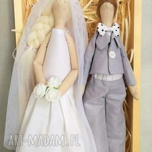 atrakcyjne ślub lalki para ślubna pamiątka