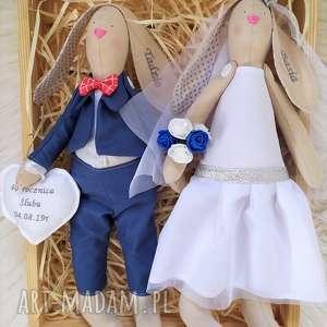 ślub para ślubna, lalki
