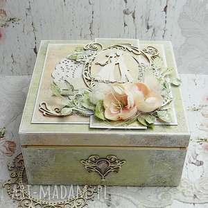 niezbędnik małżeński ślub zielone pudełko ślubne