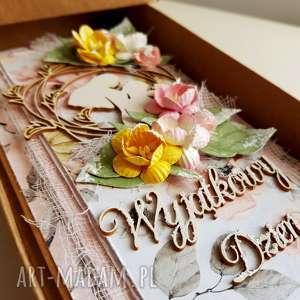 białe ślub ślubna kartka z okienkiem