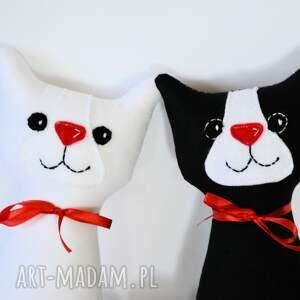 urokliwe ślub ślubna para (kotki miau)