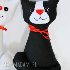 ślub czerwone ślubna para (kotki miau)