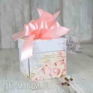 eleganckie ślub box ślubny exploding - pudełko