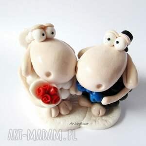 ślub figurka śmieszna na tort weselny