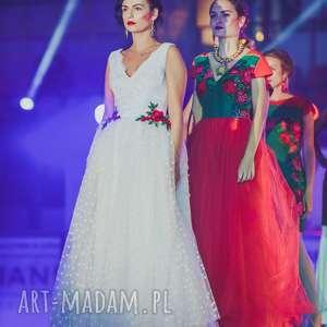 folk ślub suknia ślubna inspirowana