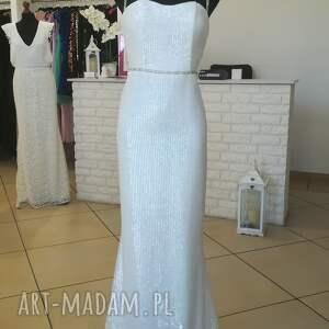 białe ślub suknia ślubna ester nowa model