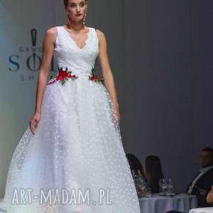 ślub góralska suknia ślubna folk inspirowana