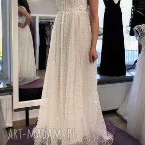 ślub białe suknia ślubna nowa, model z salonu