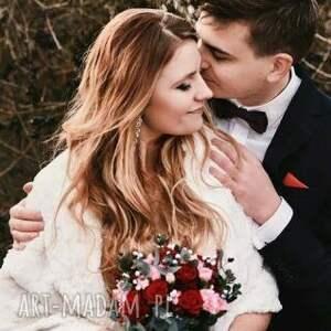 ślub etola szal ślubny ecru