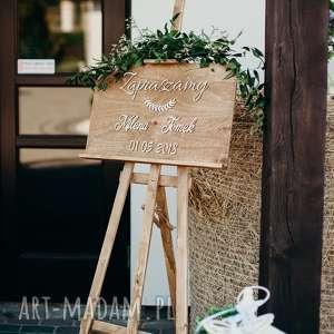 Hagal Tablica powitalna na wesele / witająca gości
