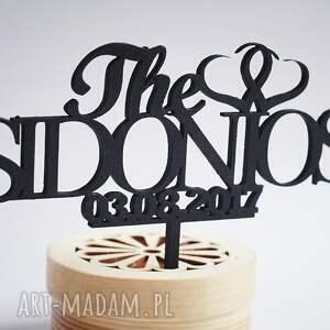 topper ślub na tort weselny