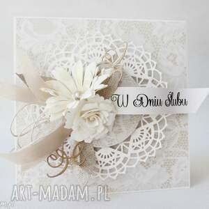 handmade ślub - w pudełku