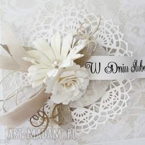 białe ślub - w pudełku