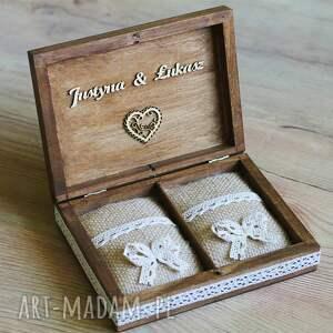 pudełko ślub zestaw pudełek - na koperty i