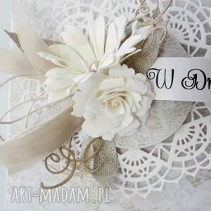 handmade ślub gratulacje - w pudełku