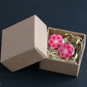 spinki do mankietów mankietów, kwiaty