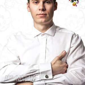 spinki do mankietów: eleganckie do serce ludowe - polski folklor