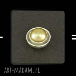 frapujące spinki do mankietów złote eleganckie do