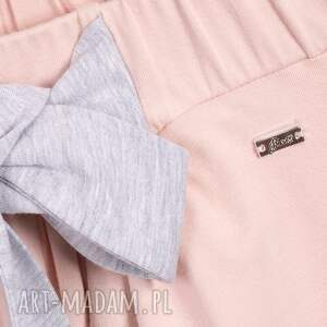 spódnice kokarda bien fashion różowa spódnica