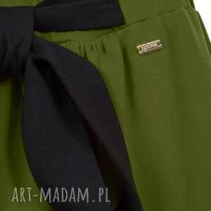 spódnice midi bien fashion zielona spódnica