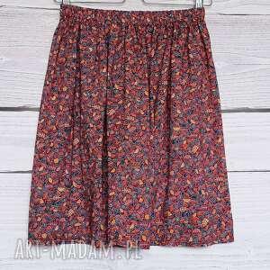 czerwone spódnice bordowa spódnica urokliwa spódniczka w odcieniu głębokiego