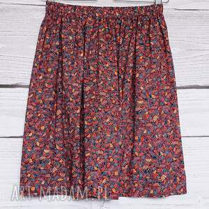 burgundowa spódnica spódnice niebieskie spódniczka w urocze