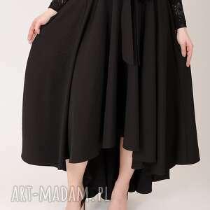 prosta spódnice czarna spódnica maxi z