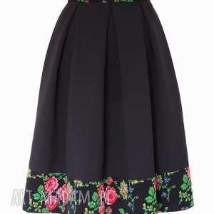 różowe spódnice spódnica-folkowa czarna spódnica folk