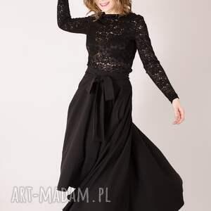 awangardowe spódnice elegancka spódnica wykonana ze średnio cienkiej tkaniny