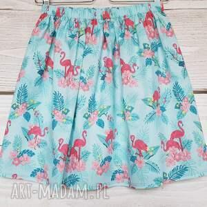 nietuzinkowe spódnice promocja flamingi // długość