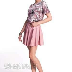 spódnice mini ginette - spódnica różowa