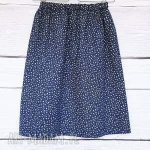 hand-made spódnice granatowa-spódniczka klasyczna granatowa spódniczka