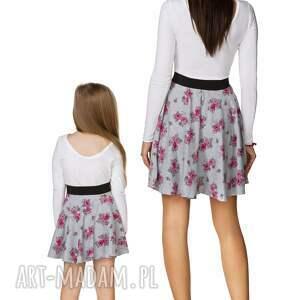 eleganckie spódnice spódnica komplet dla mamy i córki -