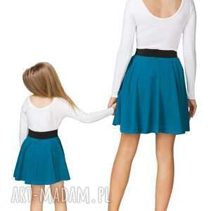 modne spódnice spódnica komplet dla mamy i córki -