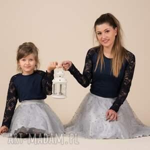 spódnice perelki komplet spódniczek tiulowych