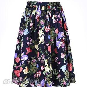 wyjątkowe spódnice spódnica kwiecista z kieszeniami