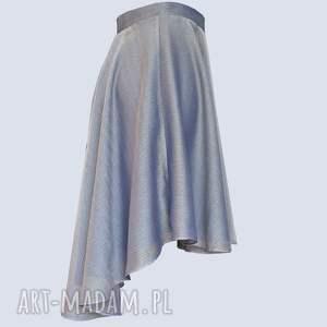 spódnice lila - mieniąca się spódnica