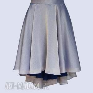 spódnice zkoła lila - mieniąca się spódnica