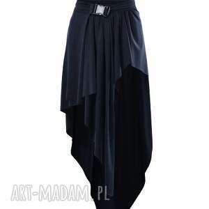jersey madonna - asymetryczna, czarna