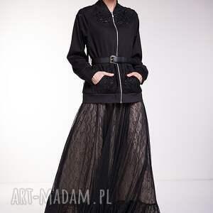 czarne spódnice moda spódnica perla