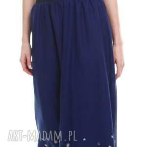 moda spódnice niebieskie spódnica rukan
