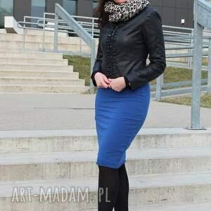 eleganckie spódnice spódnica ołówkowa dresowa midi