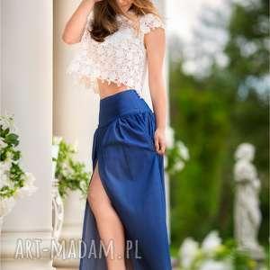 atrakcyjne spódnice clean-clothes piękna dżinsowa maxi spódnica z