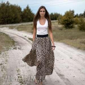 beżowe spódnice spódnica tazani